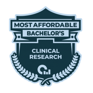 25 Most Affordable Bachelors in Clinical Research