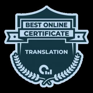 Best Online Certificate in Translation