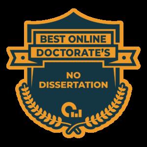 Best Online Doctorate Degree No Dissertation